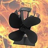 Signstek SF 4 Blatt Stromloser Ofenventilator