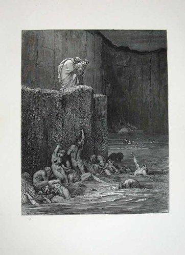 Arte 1870 delle Nuvole di Angeli del Paradiso di Dante della Galleria di Dore - Paradise Gallerie