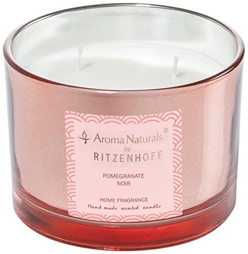 Scheda dettagliata Ritzenhoff 5080003 Aroma Naturals Luxury Candela profumata, Nero/Rosa, 11 x 11 x 8 cm