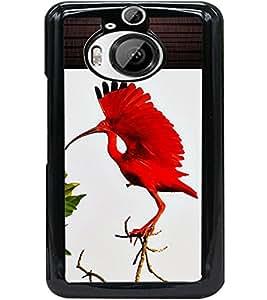 ColourCraft Beautiful Bird Design Back Case Cover for HTC ONE M9 PLUS