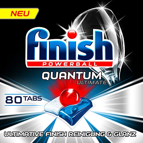 Finish Quantum Ultimate Sparpack Spülmaschinentabs, Regular, 80 Tabs