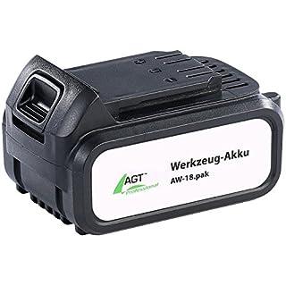AGT Professional Zubehör zu Werkzeug Accu: Li-Ion-Werkzeug-Akku AW-18.pak, 18 V/4000 mAh (Wechsel-Zubehör für Akuwerkzeug)