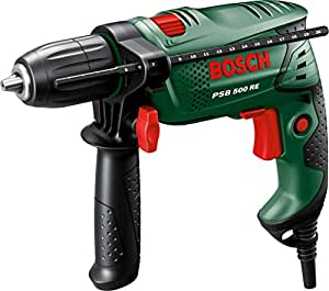 Bosch PSB 500 RE Hammer Drill with 15-Piece X-Line AccessorySet