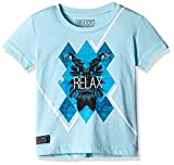 Gini & Jony Boys' T-Shirt (121010162373 C602_Clear Water_04) best price on Amazon @ Rs. 419