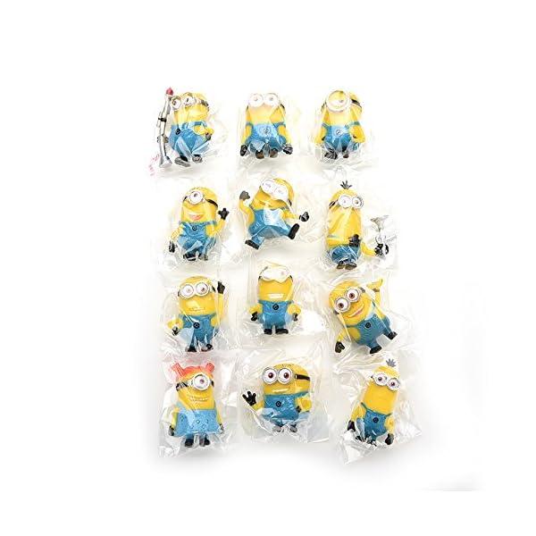Bestim Incuk - Figuras de acción de Minions de la película Gru 2: Mi Villano Favorito 5