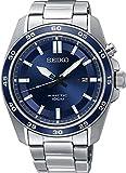 Seiko Herren Analog Kinetik Uhr mit Edelstahl Armband SKA783P1