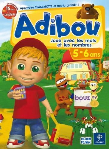 Adibou joue avec les mots et les nombre 5-6 Ans