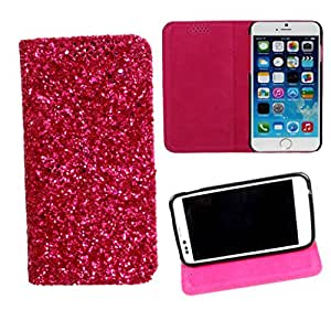 DooDa PU Leather Flip Case Cover For HTC Desire 500 (Pink)