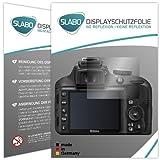 Slabo 2 x Pellicola Protettiva per Display per Nikon D3300 Protezione No Reflexion | Anti Riflesso Opaca
