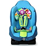 New iSafe iSOFIX Comfy Padded CARSEAT Group 1-9months - 4 Years - Adventurer