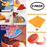 Gaddrt Natural Multi Purpose Cleaner Brilliaire Polisher Cleaning Rag Combination Pulitore Multiuso Naturale Brilliaire Polisher + 1PC Pulizia Rag Combinato-Pulito Rapidamente-Cleaned Quickly