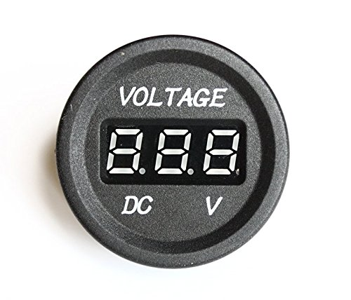 bandc LED blu digitale DC Display Voltmetro Tensione Meter per Auto Barca Auto Camion