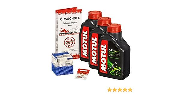 Motul 10w 40 Öl Mahle Ölfilter Für Kawasaki Klr 650 Tengai 87 91 Kl650a Kl650b Ölwechselset Inkl Motoröl Filter Dichtring Auto