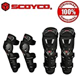 #6: Scoyco K11H11-2 Bike Riding Knee and Elbow Guard Set of 4-Black