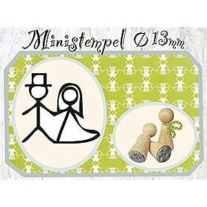 Stempel Hochzeitspaar
