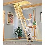 Dolle Bodentreppe kompakt 3-tlg. - U-Wert 1,30 Art.Nr.: 3036337