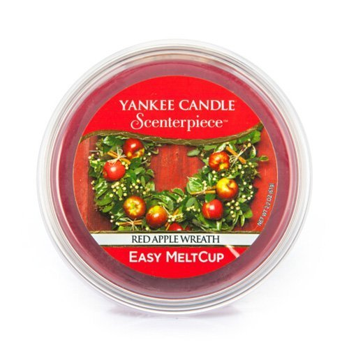 Yankee Candle Red Apple Wreath Melt Cup by Yankee Candle (Apple Candle Wreath Yankee Red)