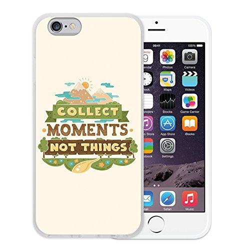 iPhone 6 6S Hülle, WoowCase Handyhülle Silikon für [ iPhone 6 6S ] Carpe Diem Handytasche Handy Cover Case Schutzhülle Flexible TPU - Transparent Housse Gel iPhone 6 6S Transparent D0295
