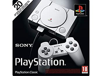 PlayStation One Classic Konsole (inkl. 2 Controller & 20 Spiele)