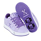 Sidewalk Sports Lane Wheeled Trainers Juniors Lilac/Purple Roller Skate Shoes (UK6) (EU39)