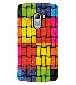 ColourCraft Beautiful Pattern Design Back Case Cover for LENOVO A7010