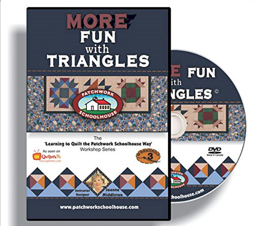 Spa-quilt (Steppung: Patchwork Schulhaus lehrt mehr Spaß mit Dreiecke auf DVD)