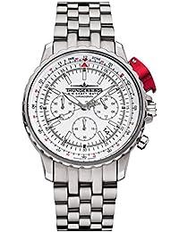 Thunderbirds 1052 - Reloj de pulsera hombre, acero inoxidable