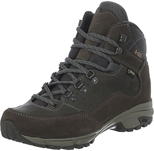 Hanwag Tudela Light Lady Gtx, Chaussures D'escalade High Femme Gris Marron