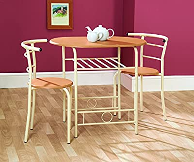 Compact Dining Table And Chairs Ideal For Kitchens Apartments Students Dining Set