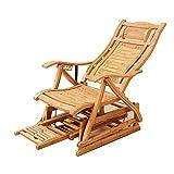 Schlafsofas Brisk- Holz Farbe Klapp Bambus Recliner Ältere Erwachsene Mittagspause Siesta Cool Chair