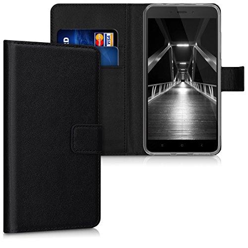 kwmobile Xiaomi Redmi Note 4 / Note 4X Hülle - Kunstleder Wallet Case für Xiaomi Redmi Note 4 / Note 4X mit Kartenfächern und Stand -