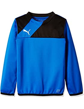 Puma Sweatshirt Esquadra Training Sweat - Sudadera de Fitness para niño, Color Azul, Talla 140 cm