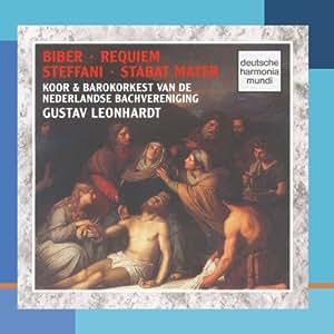 Biber: Requiem/Steffani: Stabat Mater