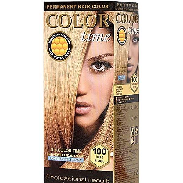 Color time, tinte permanente para el cabello de color super ...