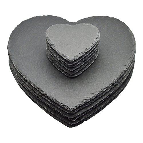 Argon Tableware Heart Shape Natu...