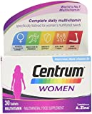 Centrum Multivitamin Tablets for Women, Pack of 30 from Centrum