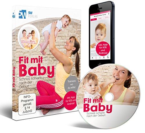 Image of Fit mit Baby - Schnell schlank nach der Geburt (Rückbildungsgymnastik mit Baby) ++ Jetzt mit App ++ Trainiere wo du willst ++