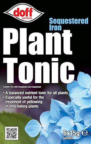 Doff séquestrer Fer plantes Tonic 5 x sachets de 15 g