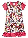 Disney Camicia da Notte per Bambina A Manica Corta | Vestiti per Ragazza Stampa Il Re Leone, Aladdin, Paw Patrol, Ariel, Sirenetta, Cenerentola (3/4 Anni, Principesse Disney)