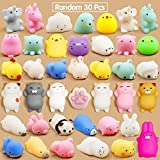 #3: Party Propz Squeeze Stress Reliever Squishy Toys for Kids and Adults Pack of 30