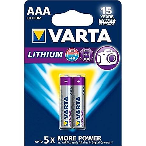 Piles Lithium Aaa - Varta - Pile Lithium - AAA x