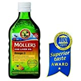Moller's Fish Oil OMEGA-3 -FRUIT Flavour- Baby Children Adults