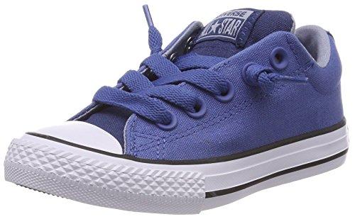 Converse Unisex-Kinder CTAS Street Slip Navy/on Sneaker, Blau (Nightfall Blue/Glacier Grey/White), 35.5 EU