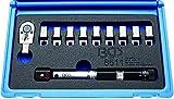 BGS dinamométrica de llave de radios, cabezales intercambiables, 1pieza, 8511
