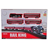 #8: Locomotive Rail King Train Set With Front LED Light