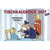 Tischkalender 2017: Standkalender mit Spiralbindung