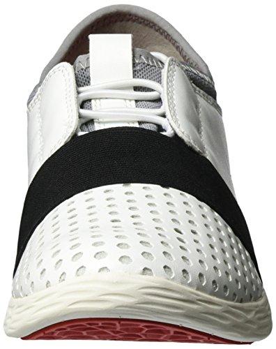 Tamaris 23722, Sneakers Basses Femme Blanc (WHITE COMB 197)