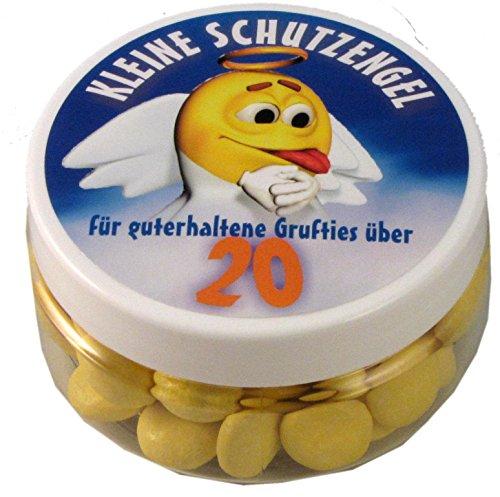 Kleine Schutzengel - Pillen zum 20. Geburtstag (Traubenzucker)