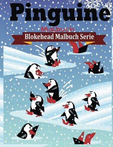 Preisvergleich Produktbild Pinguine Malbuch (Blokehead  Malbuch Serie)