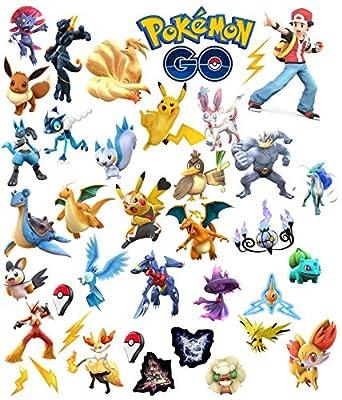 Pegatinas Pokemon Go para habitación de niños, decoración de guardería por Narret83